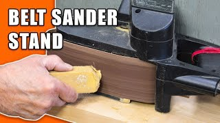 Belt Sander Stand: Convert your Belt Sander to a Bench Sander