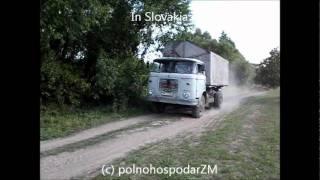 3x John Deere,3x LIAZ,CLAAS Jaguar,ZETOR,FORTSCHRITT (film 2&3)