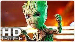 GUARDIANS OF THE GALAXY 2 Baby Groot Trailer + Clip German Deutsch | Marvel 2017