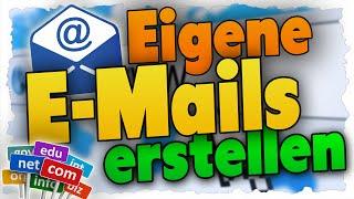 Eigene E-Mail Mit Domain Erstellen - Tutorial