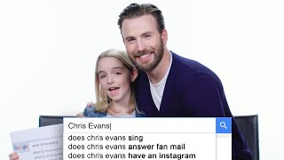 Chris Evans Answers the Web