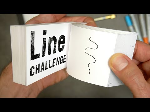 Xxx Mp4 Flipbook LINE Challenge What Can I Do With Just A Line 3gp Sex