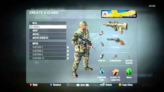 Black Ops: Best Classes to rank up fast