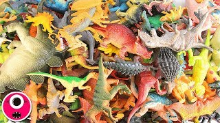 200+ Dinosaur Toys Collection | Learn Dinosaurs Names & Sounds | Dinosaurs Videos 공룡 토이