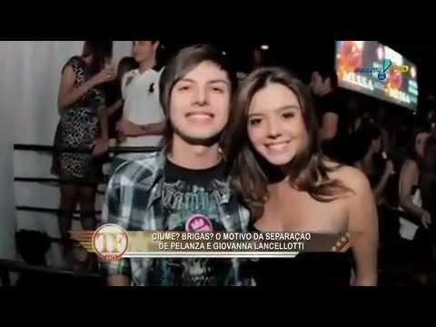 TV Fama aumenta a história do namoro de Pe Lanza com Giovanna Lancellotti.