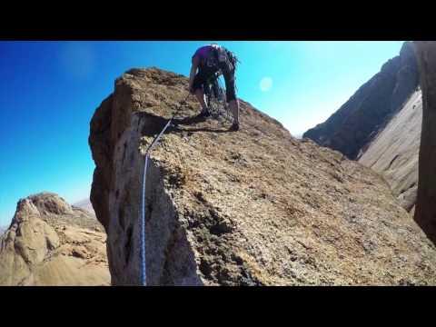 Climbing Rhino Horn, Spitzkoppe, Namibia