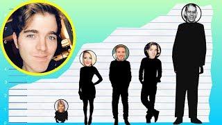 How Tall Is Shane Dawson? - Height Comparison!