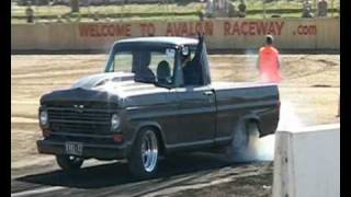 Awesome F100 Burnout at UBC2