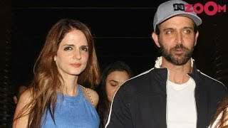 Hrithik Roshan SPOTTED With Ex-Wife Sussanne Khan & Kids | Bollywood News