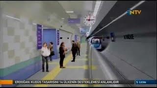Üsküdar Ümraniye Çekmeköy Metro hattını 4 günde 292 bin kişi kullandı - NTV - 20.12.2017