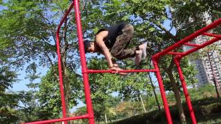 Street Workout - Jump Over The Bar Tutorial (Basics)