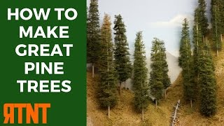 How to Make Model Pine Trees that Look Great and Realistic--RTNT009