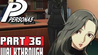 PERSONA 5 Gameplay Walkthrough Part 36 Phantom Thieves Targeted Iwai Job, Haru Bonding, Yoshida Bond