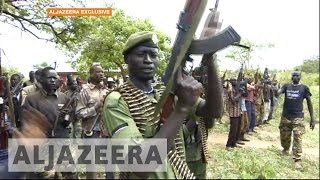 Exclusive: On the front line with South Sudan rebels