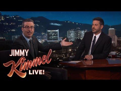 Jimmy Kimmel Doubts John Oliver s Sincerity After Emmy Win
