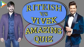 Riteish Deshmukh | Vivek Oberoi's GUT BUSTING Quiz: How Well Do You Know Each Other?