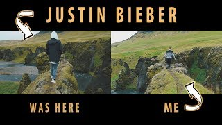 JUSTIN BIEBER WAS HERE // I'll show you