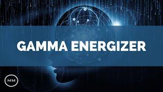 Gamma Brain Energizer - Clean Mental Energy - 40 Hz Binaural Beats