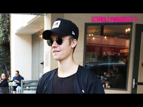 Justin Bieber Visits The Doctors Office & Goes Skateboarding 1.15.16 TheHollywoodFix