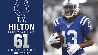 #61 T.Y. Hilton (WR, Colts) | Top 100 Players of 2017 | NFL