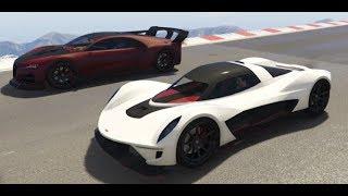 GTA 5 Top Speed Drag Race (Vagner vs. Nero Custom)