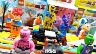 LEGO Dragon Ball Z e Dragon Ball Super LEBQ e JLB Review BR / DiegoHDM