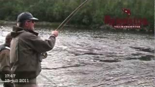 Reisastua Lodge - 2011 - Record Salmon 23Kg