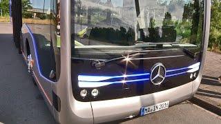 The Future Autonomous Bus by Mercedes - Demonstration
