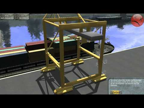 Hafen 2011 Simulator Gameplay german