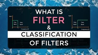 What is Filter & Classification of Filters   Four Types of Filters   Electronic Devices & Circuits