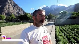 AERIAL VIEW OF MY VILLAGE CHALT - NAGAR VALLEY - GILGIT BALTISTAN - PAKISTAN
