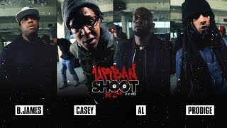Urban Shoot #24 | B.JAMES - CASEY - AL - PRODIGE