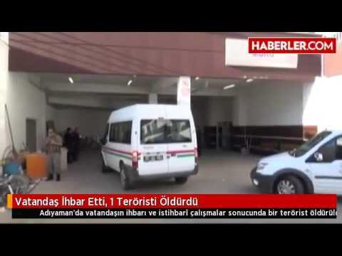 Vatandaş İhbar Etti, 1 Teröristi Öldürdü