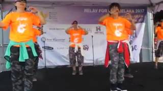 Candy Girls - Sayang by Shae : Zumba Fitness Workshop @ 2017 Melaka Relay For Life.