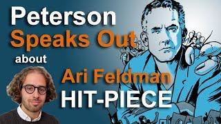 Jordan Peterson Speaks Out Against Hit Piece