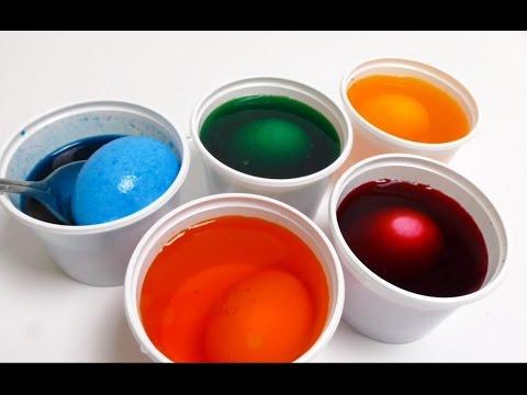 Easter Egg Coloring - DIY Video