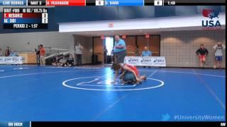 48 kg R16 - Tayler Resuriz (McKendree) vs. Marina Doi (King)