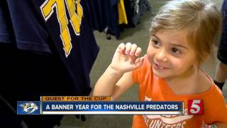 Preds Mania Spreads Like Wildfire Throughout Nashville