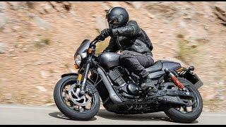 Harley-Davidson STREET ROD 750 cm3 ESSAI AUTO-MOTO.com
