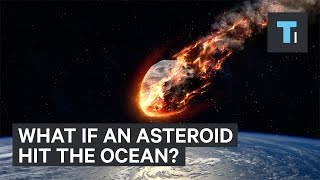Animation reveals what would happen if an asteroid hit the ocean