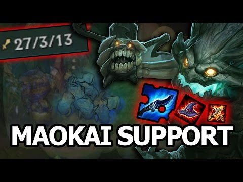 Full AP Maokai support [Patch 7.10]
