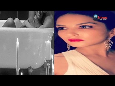 सनी और उनके पति डेनियल की बाथटब फोटोस् हुई वायरल…  Sunny Leone & Husband Daniel Bathtub Photo Viral