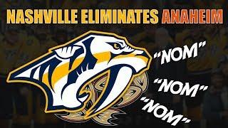 Nashville Eliminates Anaheim