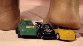 PAULA CRUSHING CARS 4