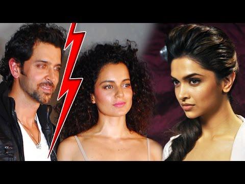 Deepika Padukone Behind Kangana & Hrithik Roshan BREAK UP?