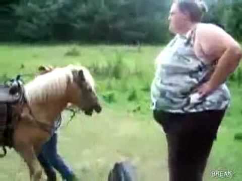 Xxx Mp4 Fat Lady Falls Off A Horse Large Woman Can 39 T Get On The Horse 3gp Sex