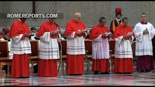 Pope to new cardinals: Jesus does not call you to be