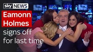 Eamonn Holmes Signs Off For Last Time