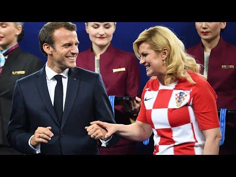 Xxx Mp4 Emmanuel Macron Kolinda Grabar Kitarovic So Verschmust Was Seine Frau Hier Mit Ansehen Muss 3gp Sex