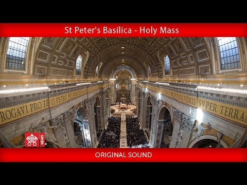 Xxx Mp4 Pope Francis St Peter S Basilica Holy Mass 2018 12 12 3gp Sex